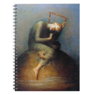 George Frederic Watts: Esperanza Libro De Apuntes Con Espiral