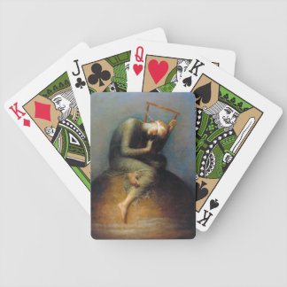 George Frederic Watts: Hope Bicycle Playing Cards