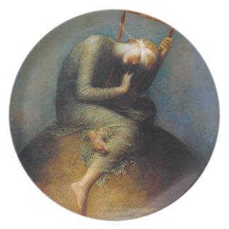 George Frederic Watts: Hope Dinner Plate