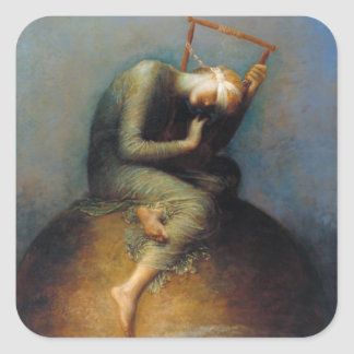 George Frederic Watts: Hope Square Sticker