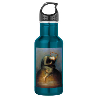 George Frederic Watts: Hope Stainless Steel Water Bottle