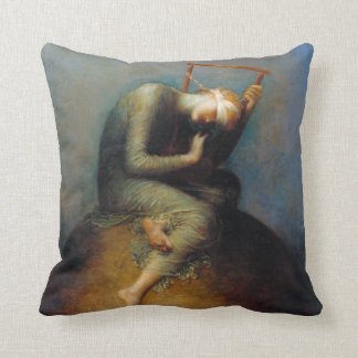 George Frederic Watts: Hope Throw Pillow