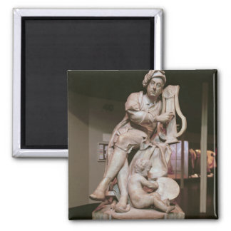 George Frederick Handel  1738 2 Inch Square Magnet