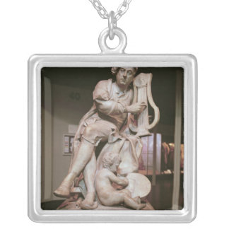 George Frederick Handel  1738 Silver Plated Necklace