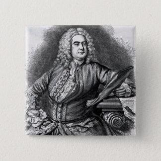 George Frederick Handel, 1749 Pinback Button