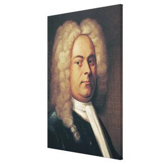 George Frederick Handel Canvas Print