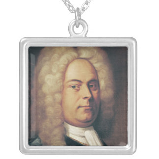 George Frederick Handel Silver Plated Necklace