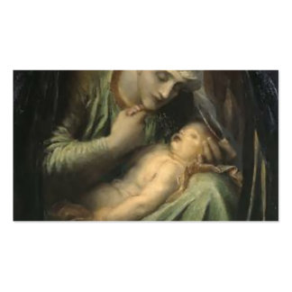 George Frederick Watts- Death Crowning Innocence Double-Sided Standard Business Cards (Pack Of 100)