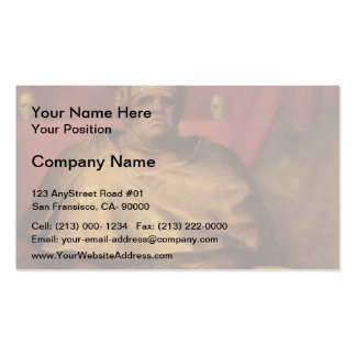 George Frederick Watts- Mammon Double-Sided Standard Business Cards (Pack Of 100)