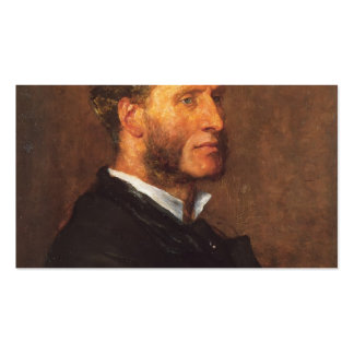 George Frederick Watts- Matthew Arnold Double-Sided Standard Business Cards (Pack Of 100)