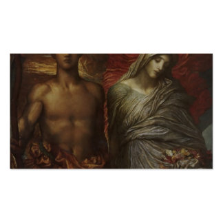 George Frederick Watts- Time, Death and Judgement Double-Sided Standard Business Cards (Pack Of 100)