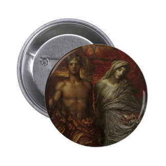 George Frederick Watts- Time, Death and Judgement Buttons
