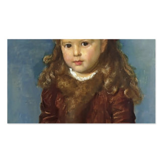 George Frederick Watts- Zoe Ionides Double-Sided Standard Business Cards (Pack Of 100)