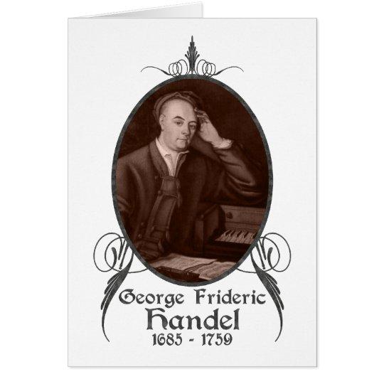 George Frideric Handel Card