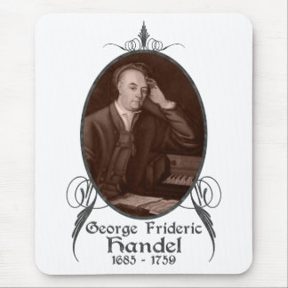 George Frideric Handel Mouse Pad