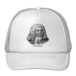 George Frideric Handel negro Gorras