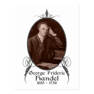 George Frideric Handel Tarjetas Postales