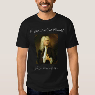 GEORGE FRIDERIC HANDEL TEE SHIRT