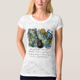 "George Frideric Handel - ""Whether I was in my body Tee Shirt"