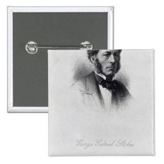 George Gabriel Stokes Button