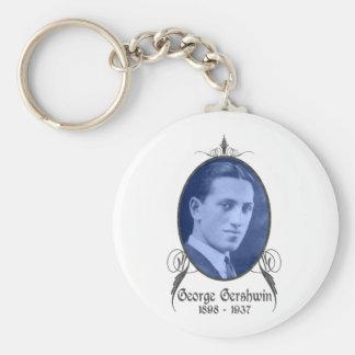 George Gershwin Keychain