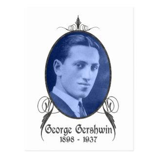 George Gershwin Postales