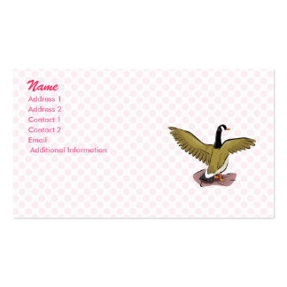 George Goose Business Card