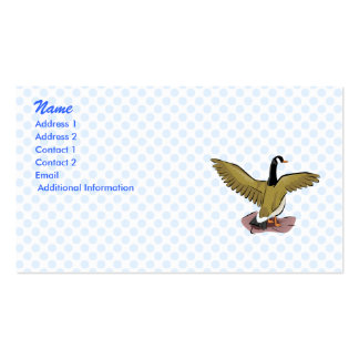 George Goose Business Card Templates