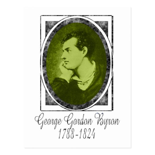 George Gordon Byron Postcard