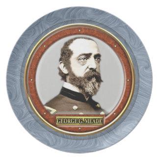George Gordon Meade Plate