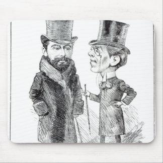 George Grossmith Jnr. y Richard D'Oyly Carte Alfombrilla De Raton