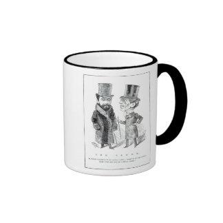 George Grossmith Jnr. y Richard D'Oyly Carte Taza De Café