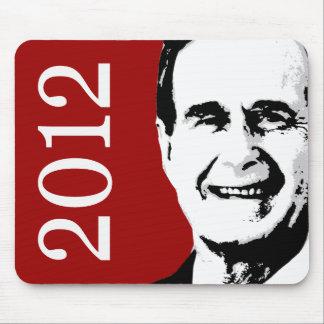 George H.W. Bush 2012 Tapete De Ratones