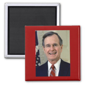 George H. W. Bush 41 Magnet