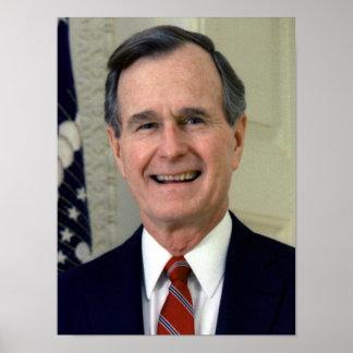 George H.W. Bush 41 Impresiones