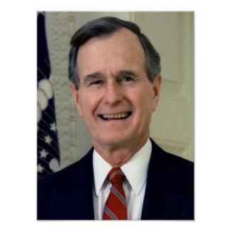 George H. W. Bush 41 Poster