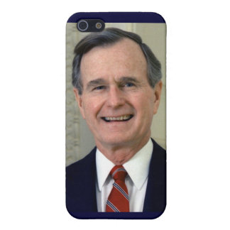 George H. W. Bush 41st President Case For iPhone SE/5/5s