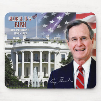 George H. W. Bush - 41st President of the U.S. Mouse Pad