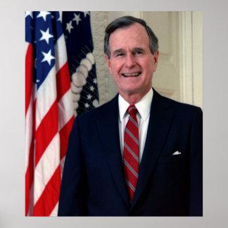 George H.W. Bush Poster
