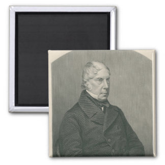 George Hamilton-Gordon, 4th Earl of Aberdeen 2 Inch Square Magnet