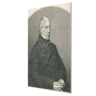 George Hamilton-Gordon, 4to conde de Aberdeen Impresión En Lona
