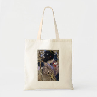 George Hardy - Japanese lady with a fan Tote Bag