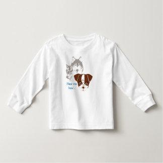 George; Hear me Howl! Toddler T-shirt