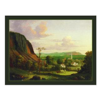 George Henry Durrie: View of Westville Postcard