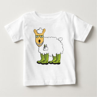 George - he's a little sheepish baby T-Shirt