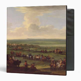 George I (1660-1727) at Newmarket, 4th/5th October 3 Ring Binder