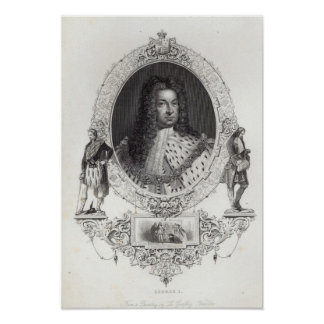 George I Poster