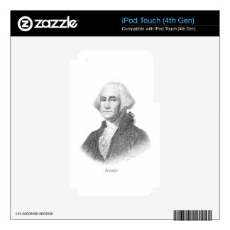 George-Iconic iPod Touch 4G Skin