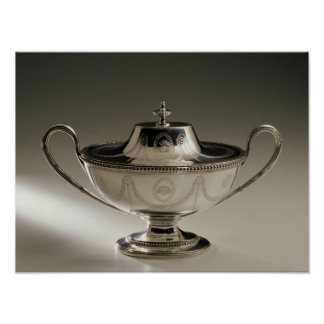 George III sauce tureen and cover Poster