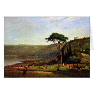 George Inness - Albanersee Card